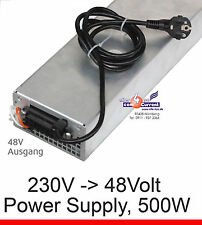 AC DC adaptador Power Supply Fuente de alimentación 48v 48 voltios 500 wa
