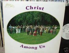 THE REDEEMER CHOIR Christ Among Us LP PRIVATE XIAN FOLK