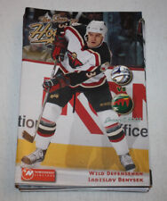 Minnesota Wild Program Magazine | January 4 2002 | Ladislav Benysek