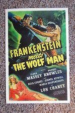 Frankenstein Meets the Wolf Man Lobby Card Movie Poster Bela Lugosi Ilona Massey