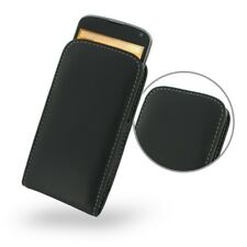 Pdair Leather Vertical Pouch Case Cover for LG Google Nexus 4 E960 - Black