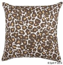"""Leopard 18"""" Cotton Pillow Cover"""