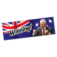 Yeah Winning Malcolm Turnbull Sticker Decal Bumper Car Vinyl Funny #5103EN