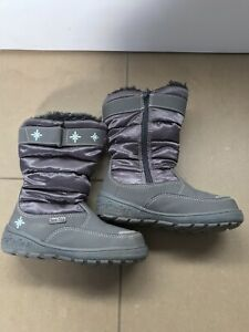 Little GIRLS SNOW BOOTS Size 11 Excellent Condition