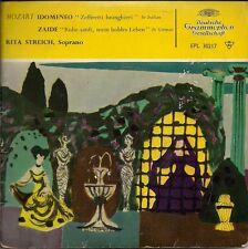 "Mozart Rita Streich Idomendo / Zaide German 45 7"" EP +Picture Sleeve Germany"