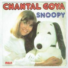 Chantal GOYA Vinyle 45 tours SP SNOOPY - LE MYSTERIEUX VOYAGE - RCA 61517 STEREO