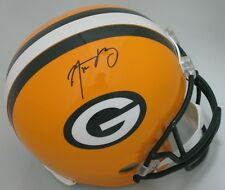 Packers AARON RODGERS Signed Riddell Replica Helmet AUTO  SB XLV CHAMP NFL MVP