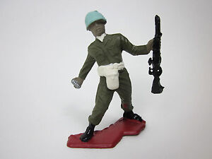 Vintage 1970 United Nations Plastic Soldier Ultra Rare made in Greece
