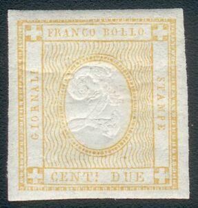 Italy Michel No.13* (MICHEL € 90,00) feinst/pracht