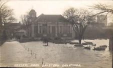 Dartford. Central Park Jan.4 1925. Flood.