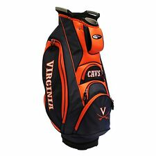 NEW MODEL! Team Golf Virginia Cavaliers Victory Cart Golf Bag Navy/Orange 25473
