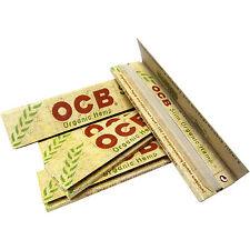 10 x OCB Organic Hemp Slim Papers aus natürlichem Hanf Canapa Hanfblättchen