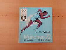 Panini Album:  München 72 Olympiade  1972