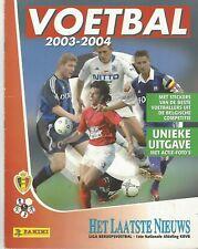 Panini Voetbal 2003-2004 (België) Compleet & als nieuw