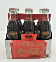1996 Coca Cola 100 Years Of Olympic Tradition Athens To Atlanta 6 Pack Bottles