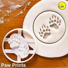 Bear Paw Prints cookie cutter | Conservation endangered animal grizzly wildlife