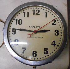 Vintage Appleton Explosion Proof Clock
