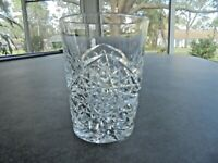 Original Hand Cut Heavy Crystal Whiskey Glass