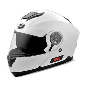 Modularhelm / Motorradhelm klappbar KX1 XGP Gr. L in weiß