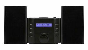 Sylvania Srcd804bt Bluetooth[r] Cd Microsystem With Radio