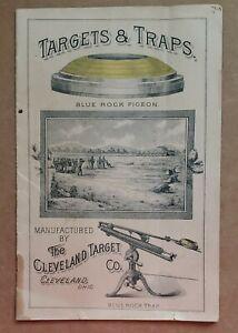 Ca. 1890 Cleveland Target Company -- Trapshooting Brochure -- RARE