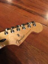 2010 Fender Stratocaster Black Top Strat Neck Maple 22 Frets Plate
