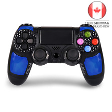🇨🇦 PS4 Controller Dual Shock 4 Wireless Controller Joystick with Sixaxis Bl...