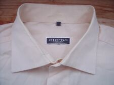 C8081 Eterna Excellent Hemd 42 Helllachs-Creme-Rosa-Ton Unifarben Sehr gut