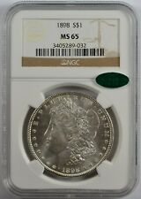 1898 P Morgan Silver Dollar NGC MS65 CAC