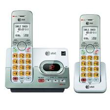AT&T EL52203 DECT 6.0 2 Handset Cordless Phone With Digital Answering Machine