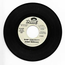 BOBBY MARCHAN-DIAL 1152 PROMO SOUL 45RPM BUMP YOUR BOOTY M- CLEAN LABELS