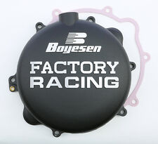BOYESEN FACTORY RACING CLUTCH COVER (BLACK) CC-42B Fits: KTM 250 SX,250 XC,300 X