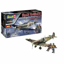 Revell 1:32 Gift Set Spitfire Mk.II Iron Maiden Aces High Aircraft Kit - 05688
