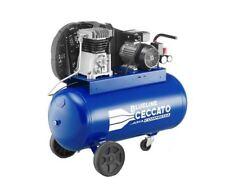Compressore cinghia 10 Bar potenza 2 HP/1,5 kW serbatoio 90 litri marca BLUELINE