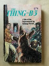 Vintage HC young adult book The Thing in B-3 Talmage Powell Whitman sci fi 1969