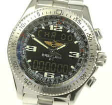BREITLING B-1 A68362 black Dial Quartz Men's Watch_555353