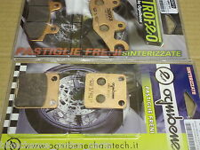 kit pastiglie anteriori posteriori SINTERIZZATE Kawasaki KLX 125 D - tracker