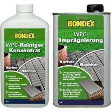 BONDEX WPC Reiniger Konzentrat 1 L + Imprägnierung 1 L SET für Außen & Innen