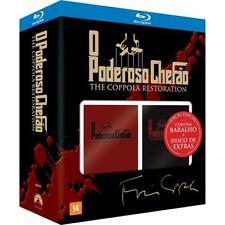 Blu-ray The Godfather Trilogy Coppola Restoration 4-Disc Set + Cards [ Region A]