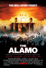 THE ALAMO (2004) ORIGINAL MOVIE POSTER  -  ROLLED  -  DOUBLE-SIDED  -  GLOSSY