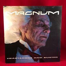 "Magnum heartbroke y rota 1990 Reino Unido 12"" Single Vinilo Excelente Estado"
