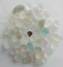 500g White Off White Mostly Flawless Bubbly Seaham Sea Glass