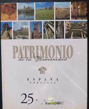 Libro Patrimonio de la Humanidad,España-Portugal,Plaza & Janes,1997,1ª edicion