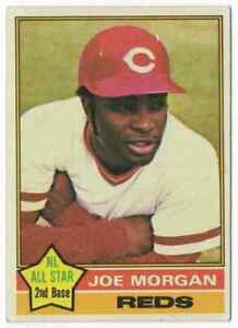 JOE MORGAN - 1976 TOPPS #420 !