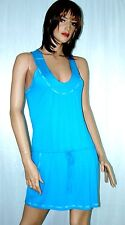 Buffalo Women's Sky Blue Drawstring Waist Spandex Knit Dress MRSP$69.00 sz M