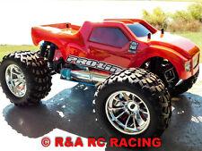 Proline BullDog Custom Volcano S30 4WD 45+MPH 1:10 Nitro RC Monster Truck RTR