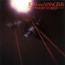 JON & VANGELIS - SHORT STORIES  CD  10 TRACKS ART ROCK  NEW+
