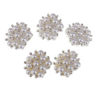 15mm 20mm Silver Flower Design Shank Jacket Suit Craft Buttons P124 P125