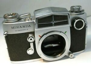 Miranda Sensorex 35mm film camera with light meter working