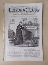 ANTIQUE VICTORIAN THE LEISURE HOUR MAGAZINE PAPER No 1004 MARCH 25th 1871